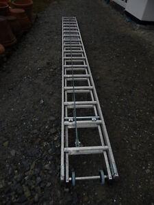 Sprossen-Seilzugleiter 2-teilig 2x17 Sprossen Günzburger Steigtechnik