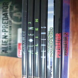 Alien Predator Annihilation Collection DVD Box Set VGC FREE POST R4