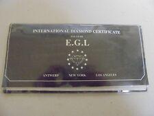 Natural Diamond .33ct Fair to Good (1G) Round Cut Certificate # LA408253