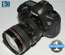 Canon EOS 5D Mark Kit con EF III 24-105 mm f/4L IS LENTE USM (da JESSOPS)