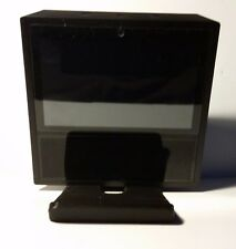 Amazon echo show tilting STAND 3D printed view at multiple angles (Black)