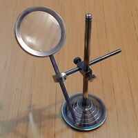 Adjustable Magnifying Glass Table Top Vintage Magnifier Gift