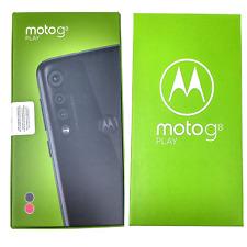 "Motorola Moto G8 Play 32GB XT2015-2 Dual SIM 6.2"" 13MP+8MP+2MP Unlocked Phone"