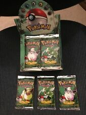 Pokemon Jungle Booster Pack From Factory Sealed Box,UNWEIGHED,You Receive 1 Pack