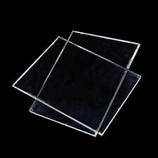 1 Pc Clear Plastic Acrylic Plexiglass Perspex Sheet A4 Size 3mm, High Quality