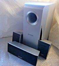 Panasonic SB-PC740, FS741, FS740W Center, 2 Satellite Speakers & Subwoofer