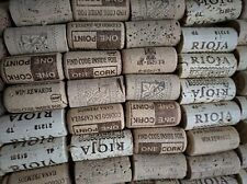 100 USED WINE CORKS WEDDING/FISHING/ARTS & CRAFTS - NO CHAMPAGNE