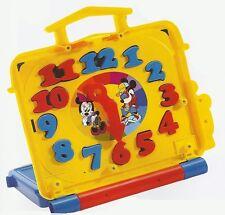 DISNEY magnetisches Spiel- und Lernpult mit Schultafel, Uhr + Buchstaben MATTEL