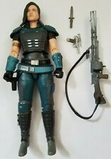 "Hasbro Black Series The Mandalorian Cara Dune 6"" with all weapons but no box"