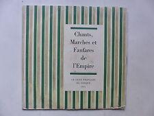 Chants marches et fanfares de l Empire Club francais du duisque 1965