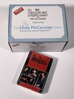 The Beatles Trivia Game : Linda McCartney Centre W/ New, Sealed Beatles Cards