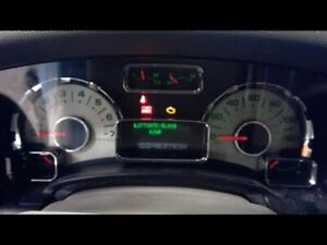 2007 2008 Ford Expedition Speedometer Cluster Floor Shift MPH