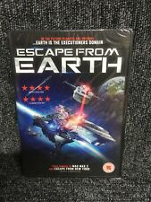 Escape From Earth  DVD New & Sealed. Freepost In Uk. Uk Region 2.