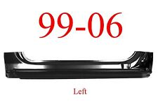 99 06 LEFT Extended Rocker Panel, 2Dr Regular Cab, Chevy GMC Truck, 2.0MM Thick