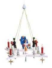 Adventskranz Stern + Engel & Bergmann Ø =38 cm NEU Weihnachtskranz Hängeleuchter