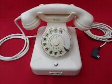 ALTES BAKELIT TELEFON +  W48 +   FR Reiner - München   + 1963  + Wählscheibe