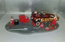 Hot Wheels '55 Chevy Gasser Custom Holiday Christmas Display Real Riders RR 1955