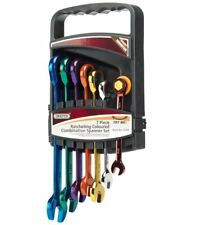 Genuine Draper Ratcheting Coloured Spanner Set (7 Piece) 15394