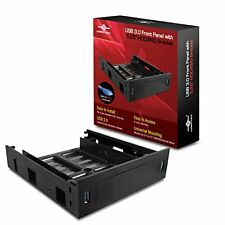 "Vantec USB 3.0 Front Panel with 5.25"" HDD/SSD Bracket Components HDA-502H"