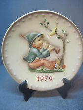 1979 Hummel Annual Plate #272 Singing Lessons 9Th In Series