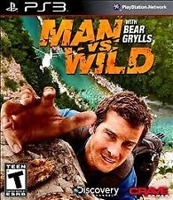 Man vs. Wild With Bear Grylls PS3! SURVIVAL, HUNT, HUNTER, SURVIVE DISCOVERY