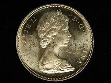 1966 Canada Silver Dollar - UNC - PL