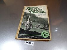 MOTOR CYCLING MANUAL BOOK.11TH ED.BSA,NORTON,ARIEL,AJS,HRD,ETC VTG,RIGID,WW2,