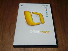 Microsoft Office Mac 2004 Standard Edition niederländische Vollversion dutch