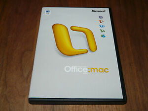 Microsoft Office Mac 2004 Standard Edition niederländische Vollversion dutch