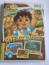 Go, Diego, Go Safari Rescue (Nintendo Wii, 2008) Complete