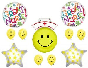 Nursing Pinning Appreciation Week Graduation Party Balloons Decoration Nurse