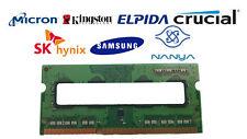 4GB DDR3L-1600 PC3-12800S 1Rx8 DDR3L SDRAM Laptop Memory