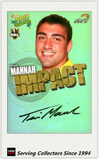 2010 Select NRL Champions Impact Foil Signature IS38 Tim Mannah (Eels)