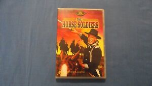 The Horse Soldiers John Wayne William Holden - DVD - R4 - Free Postage