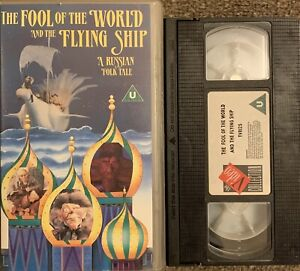 THE FOOL OF THE WORLD AND THE FLYING SHIP 'A RUSSIAN FOLK TALE'-VHS VIDEO.