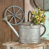 Country new distress Tin decor WATERING CAN