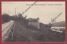 VARESE GOLASECCA 11 PRESUALDO - CAPPELLETTA delle BARCHE Cartolina viagg. 1923