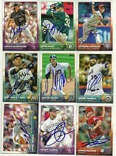 2015 Topps DONOVAN SOLANO Signed Card MARLINS auto COLUMBIA