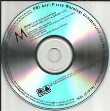 MAROON 5 w/ RIHANNA If I never See your Face Again TST PRESS PROMO DJ CD Single