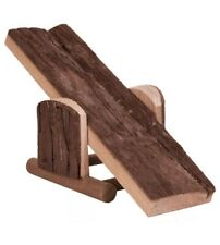 Trixie Natural Living Seesaw, 22 x 7 x 8cm - Seesaw Hamster 8cm Wood Toy