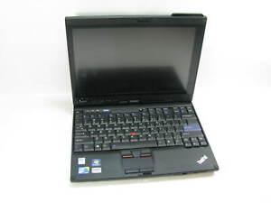 """Lenovo X201 Tablet 12.2"""" Laptop 2.13 GHz i7-L 640 4GB RAM (Grade B No Webcam)"""