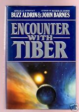 ENCOUNTER WITH TIBER -NASA APOLLO 11 BUZZ ALDRIN SIGNED 1ST-VERY GOOD CONDITION