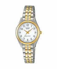 LTP-1129G-7B Casio Gold tone Stainless Steel Watch Ladies Water Resistant