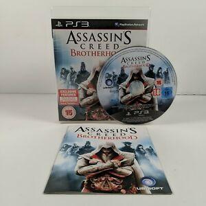 Assassins Creed Brotherhood - PlayStation 3 (PS3) - PAL - Complete - Free P&P