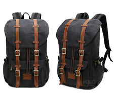 Travel Canvas Sport Rucksack Shoulder Laptop School Camping Hiking Bag Backpack