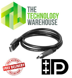 1.8M Displayport Monitor Cable - Male to Male - Up to 4k Resolution HD Cable