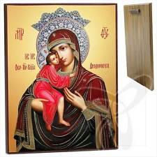 Ikone GM Fyodorovskaya Holz 30 x 40 Феодоровская Богородица икона ikona