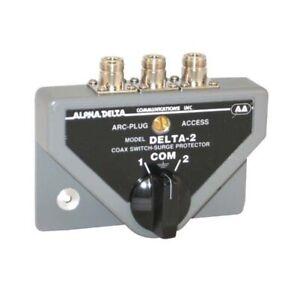 Alpha Delta 2BN 2 Way N-Type Coax Switch