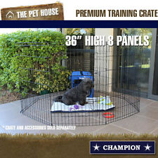 NEW Champion large wire foldable travel exercise playpen