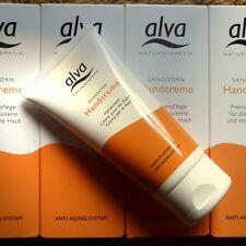 Alva Buckthorn Hand Cream 50ml Anti-Aging Care Hands Nail Skin Organic Vegan